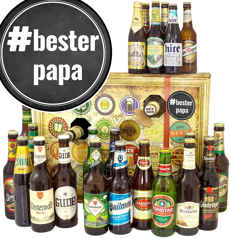Bieradventskalender + mit Biersorten aus DEU und Welt