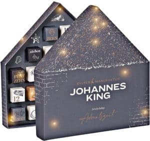 Johannes King Schokoladen Adventskalender