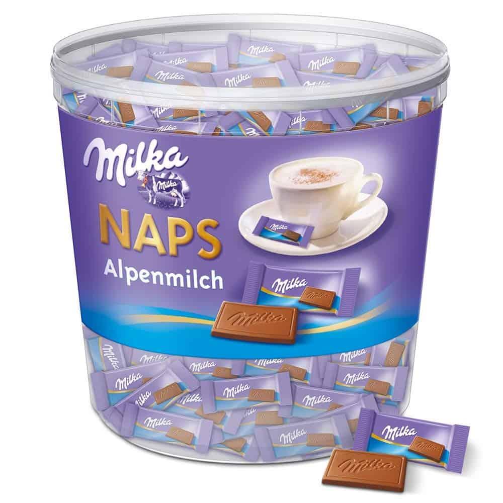 Milka-Adventskalender milka naps