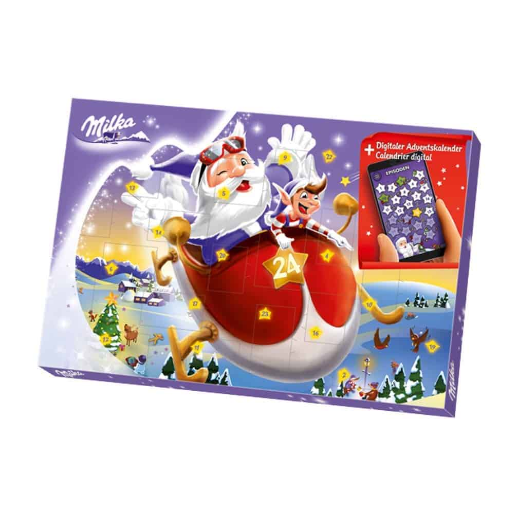 milka schokoladen adventskalender digital