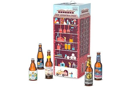 Adventskalender mit Bier Männer Frauen Getränke Weihnachten Advent