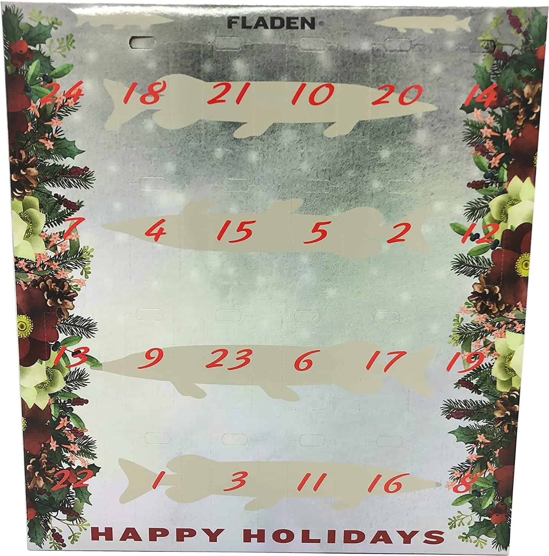 Fladen Angel Adventskalender Fishing - Weihnachtskalender Angler Advents Kalender
